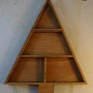 Wood Christmas tree layering no.3 | SaCrafters LLC