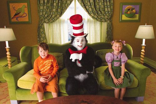 Cat In The Hat Cat In The Hat Movie Photo Kitten Wallpaper Movie Decor Family Movies