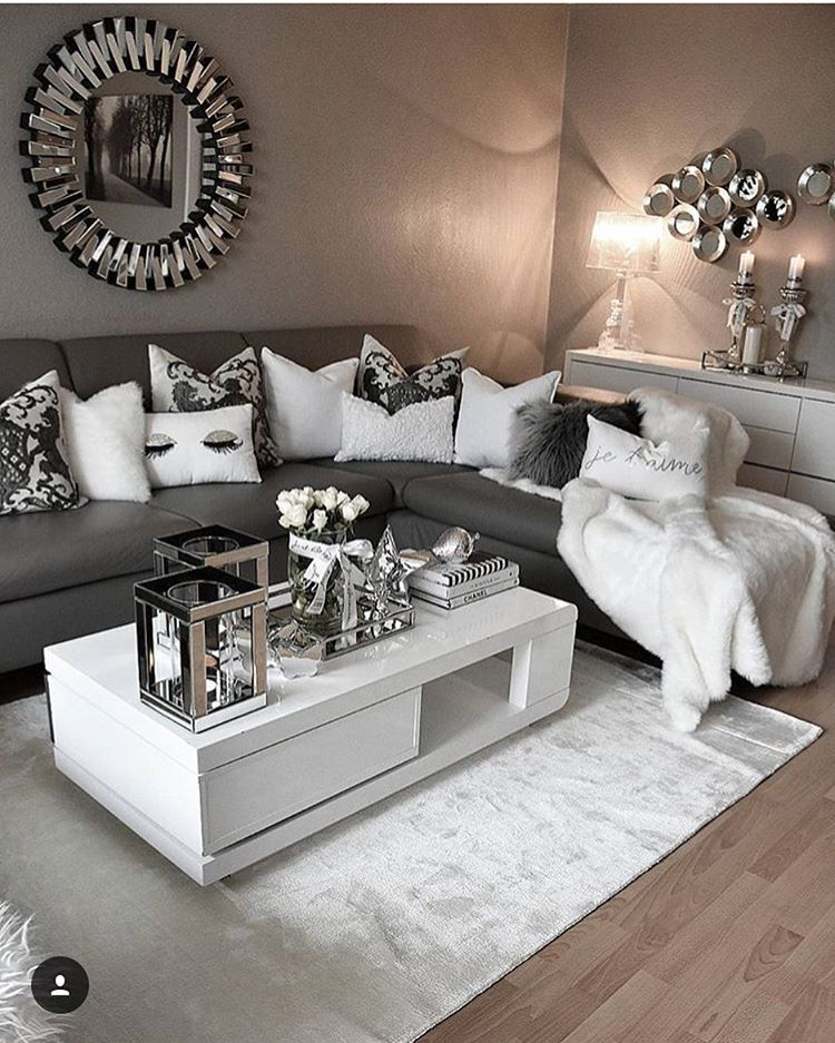 Living Room Designs, Bedroom Designs, Living Room Ideas, Grey Living Rooms,  Apartment Ideas, Ideas Para Casa, See Videos, Bedroom Furniture, Deco Design