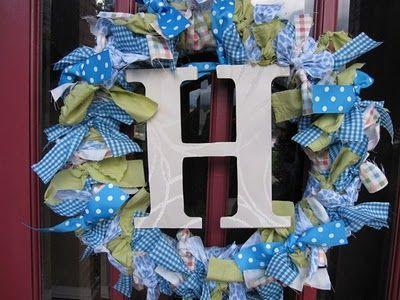 Photo of Ribbon wreath