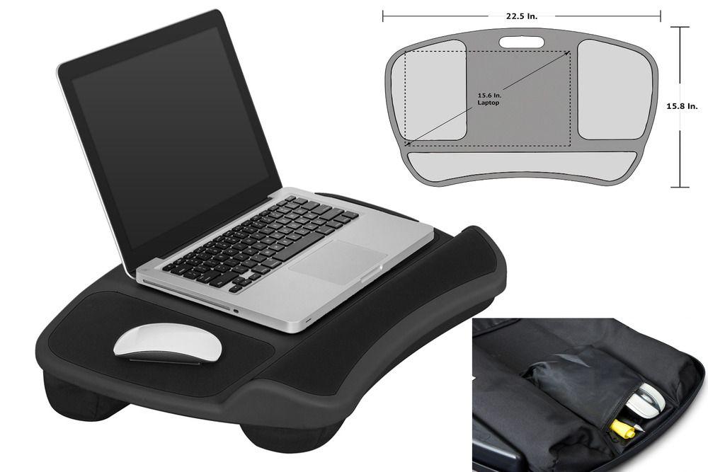 Xl Laptop Lap Desk Table Bed Cushion Fits Up To 17 3 Laptop Pad C