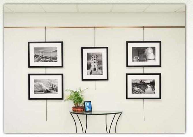 Picture Hanging System Alternative Way To Hang Art Slat Wall