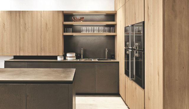 Cuisine en bois, bois clair, meuble de cuisine en bois, bois clair ...