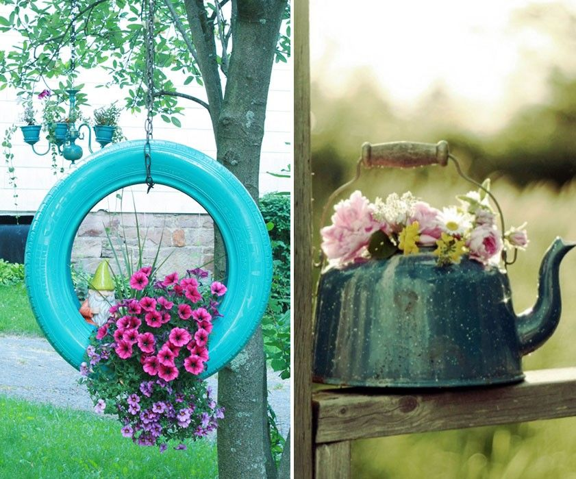 18 ideas para decorar patios y jardines jardines bellos for Bioguia jardines