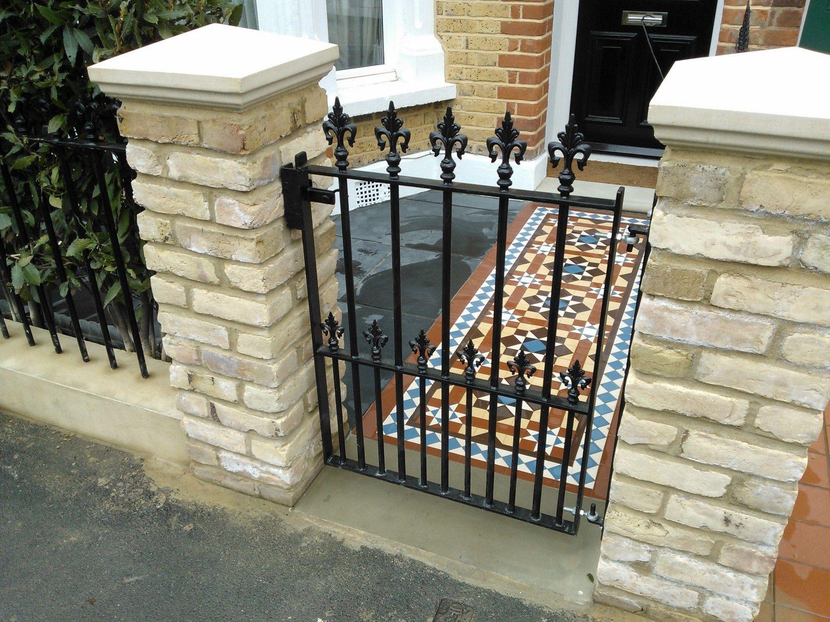 victorian mosaic tile path colour, london | baldosas hidráulicas