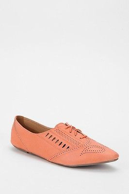 anthropologie 8 Pink Oxford BDG shoe Urban NEW lace UO Lasercut Outfitters  XZqU0R8 b8a570c5731da