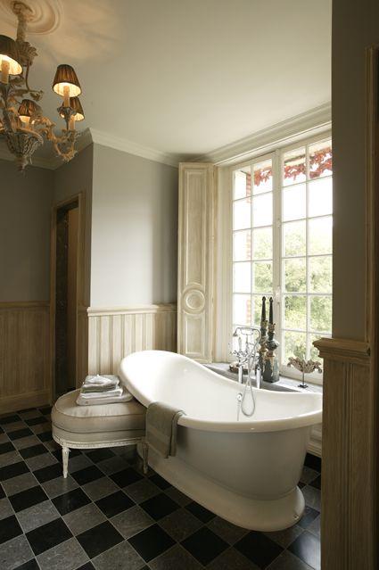 vrijstaand bad - klassieke badkamer - Taps & Baths | landelijke ...