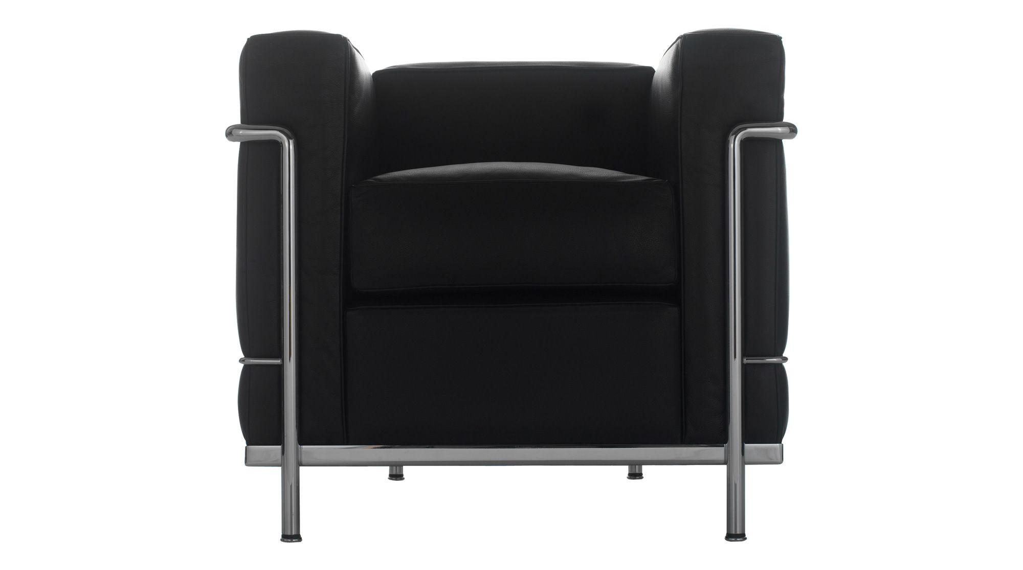 Lc2 Fauteuil Grand Confort Petit Modele Salon D Automne Armchair Le Corbusier 1929 Cassina Contemporary Furniture Design