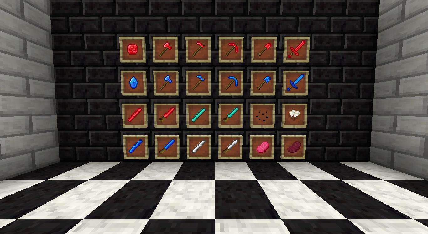 моды на майнкрафт 1.6.4 на строительные блоки #5