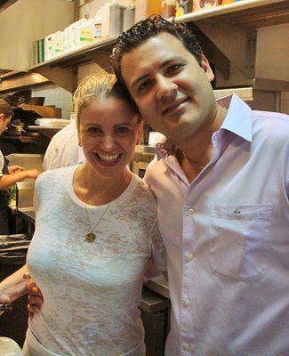 Chef Michelle Bernstein and husband David Martinez Chef - schüller küche gala