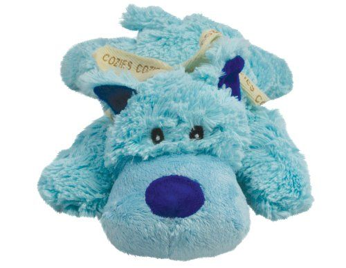 KONG Cozie Baily the Blue Dog, Medium Dog Toy, Blue http