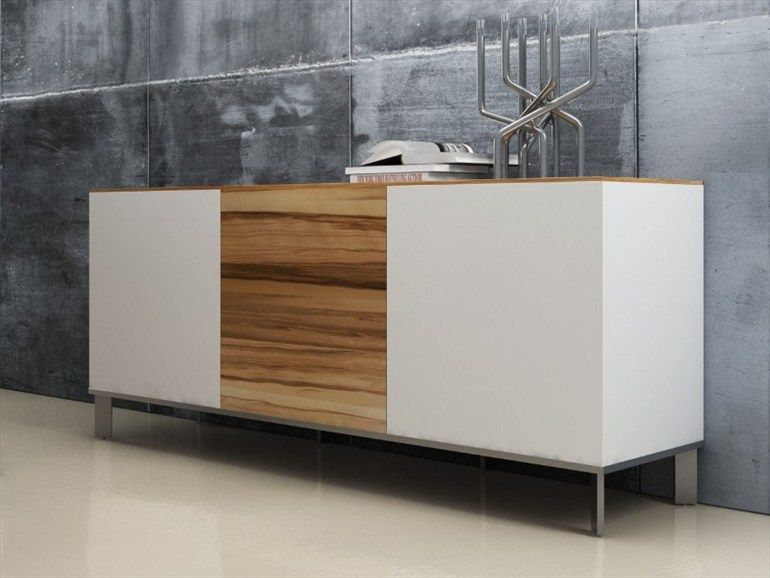 Credenza Conference Room : Credenza for conference rooms. like the white lacquer combined with