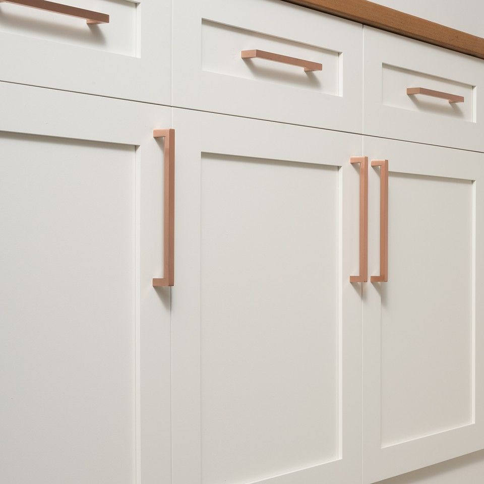 Edgecliff pull satin copper brass drawer pulls hardware and drawers