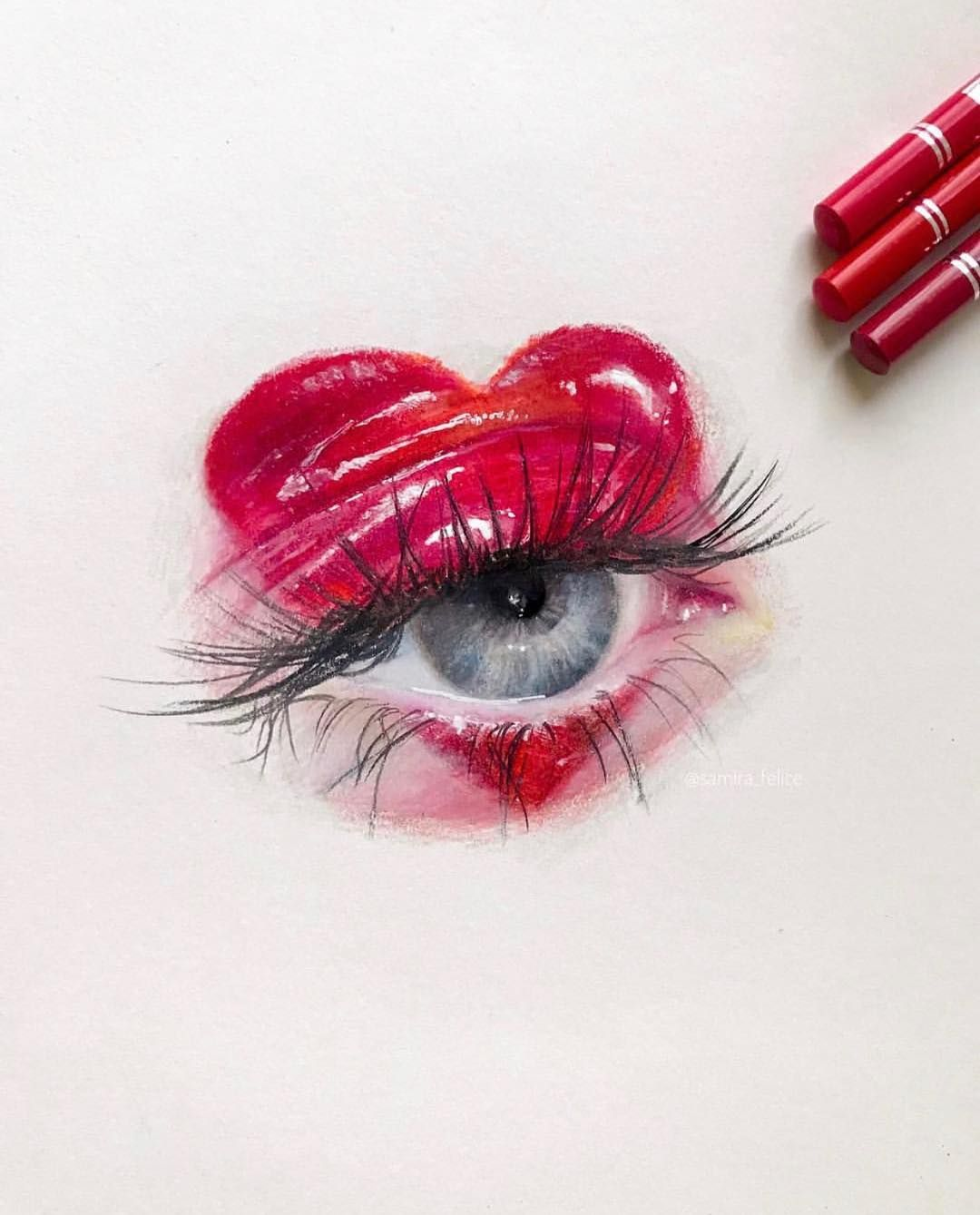 Find Your Passion To Create Cool Eye Drawings Prismacolor Art Eye Art