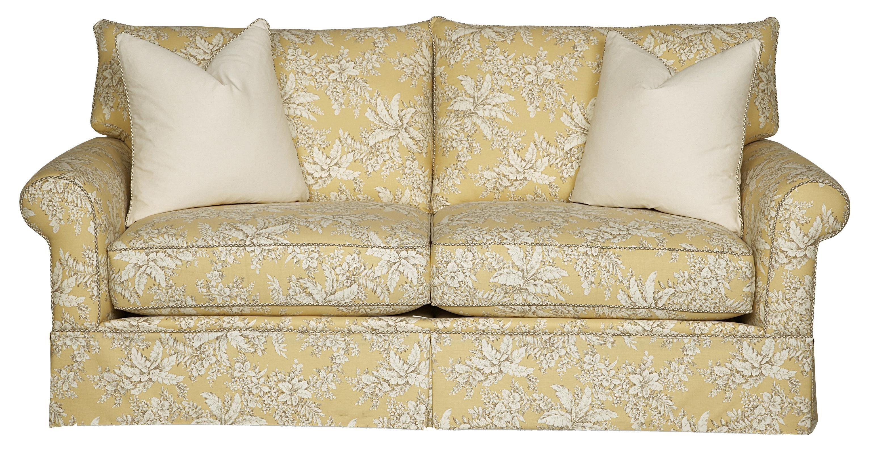 13001 Smaller Two Seat Sofa By Alan White Yellow Sofa Sofa