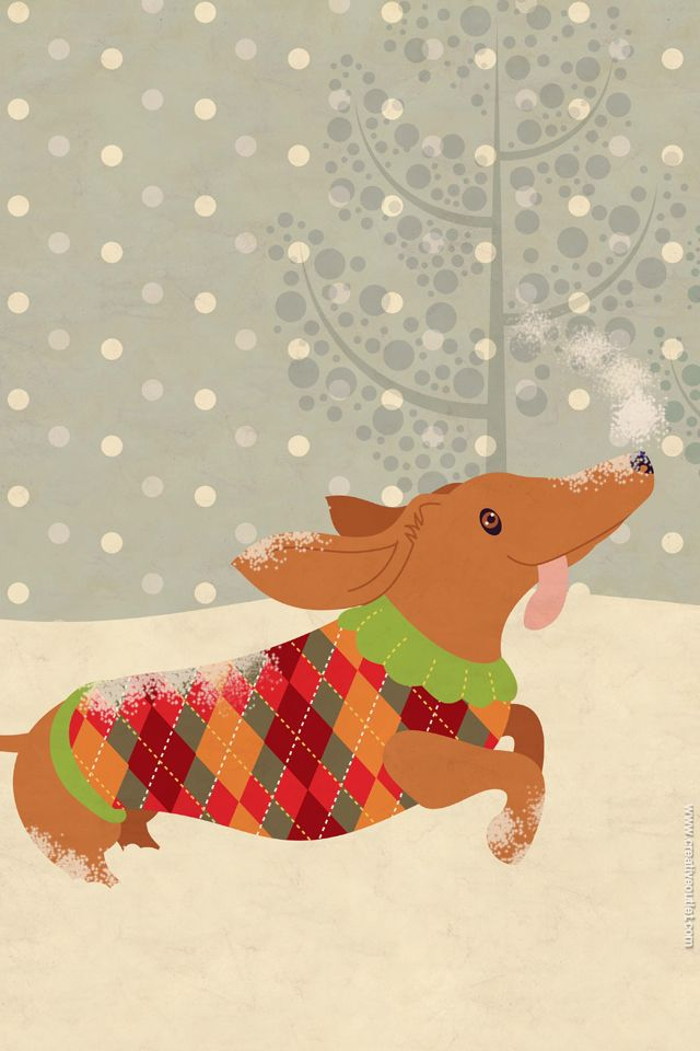 Christmas Wallpapers For Your Iphone Or Ipad Creativeoutlet Multiad Corgi Wallpaper Iphone Christmas Wallpaper Christmas Artwork