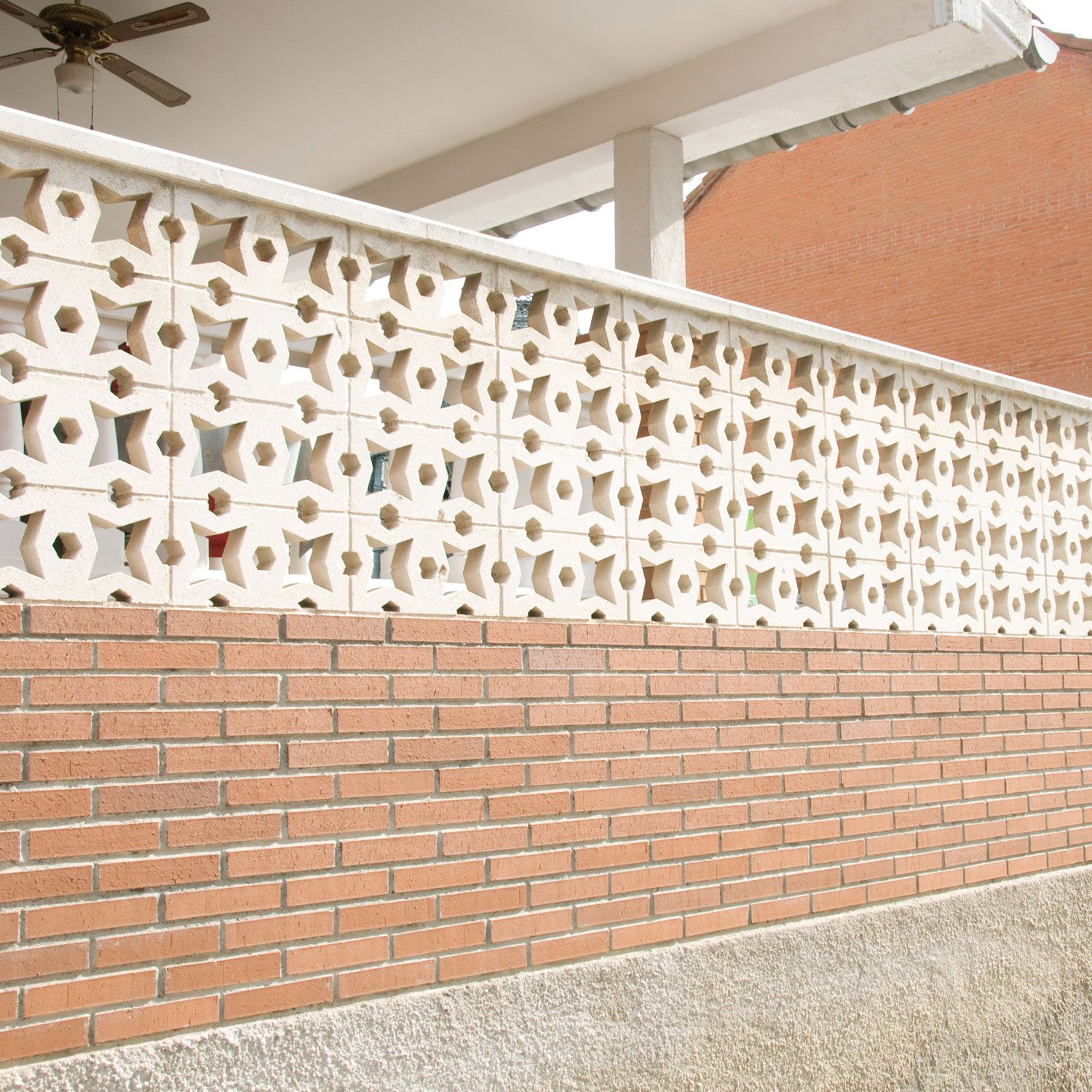 Celos A Estrella Celos As Decorativas Decorative Bricks  ~ Celosias De Madera Leroy Merlin