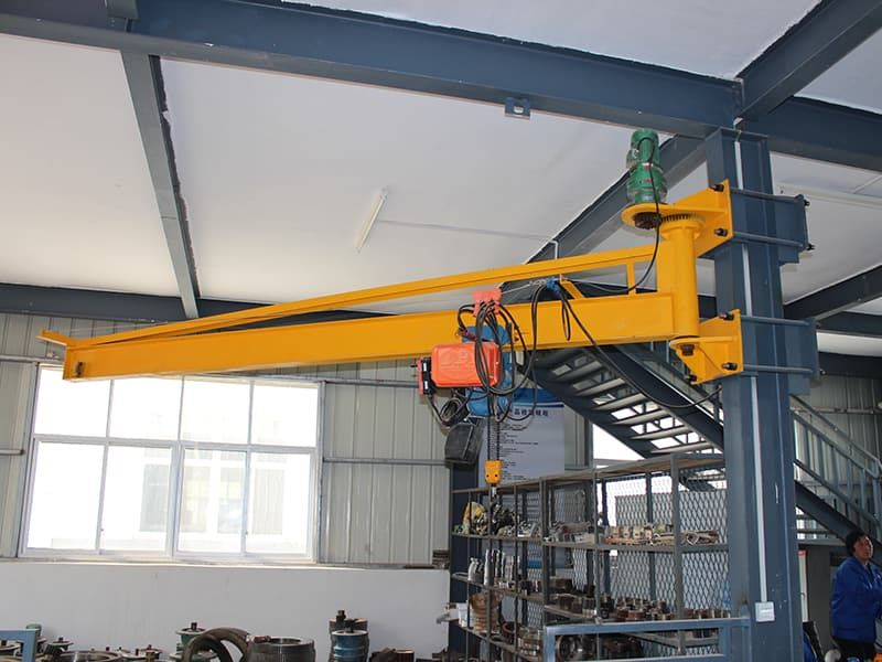 Wall Mounted Jib Crane Quality Jib Cranes From Ellsen Aimix Group Welding Table Wall Mount Building Design