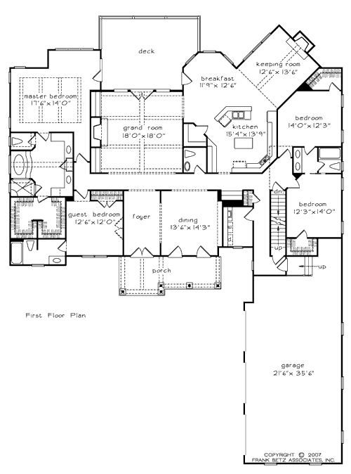 The River Gate Sl House Plans First Floor Plan House Plans By Designs Direct Plus A Toilet Room In Master House Floor Plans New House Plans House Plans