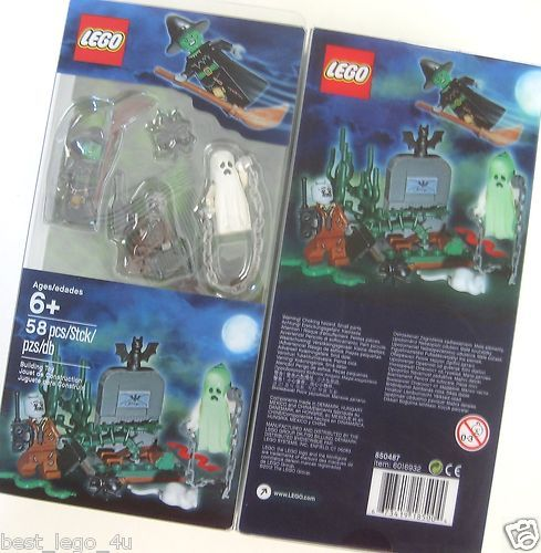 LEGO HALLOWEEN ACCESSORY SET 850487 Witch Zombie Ghost ...