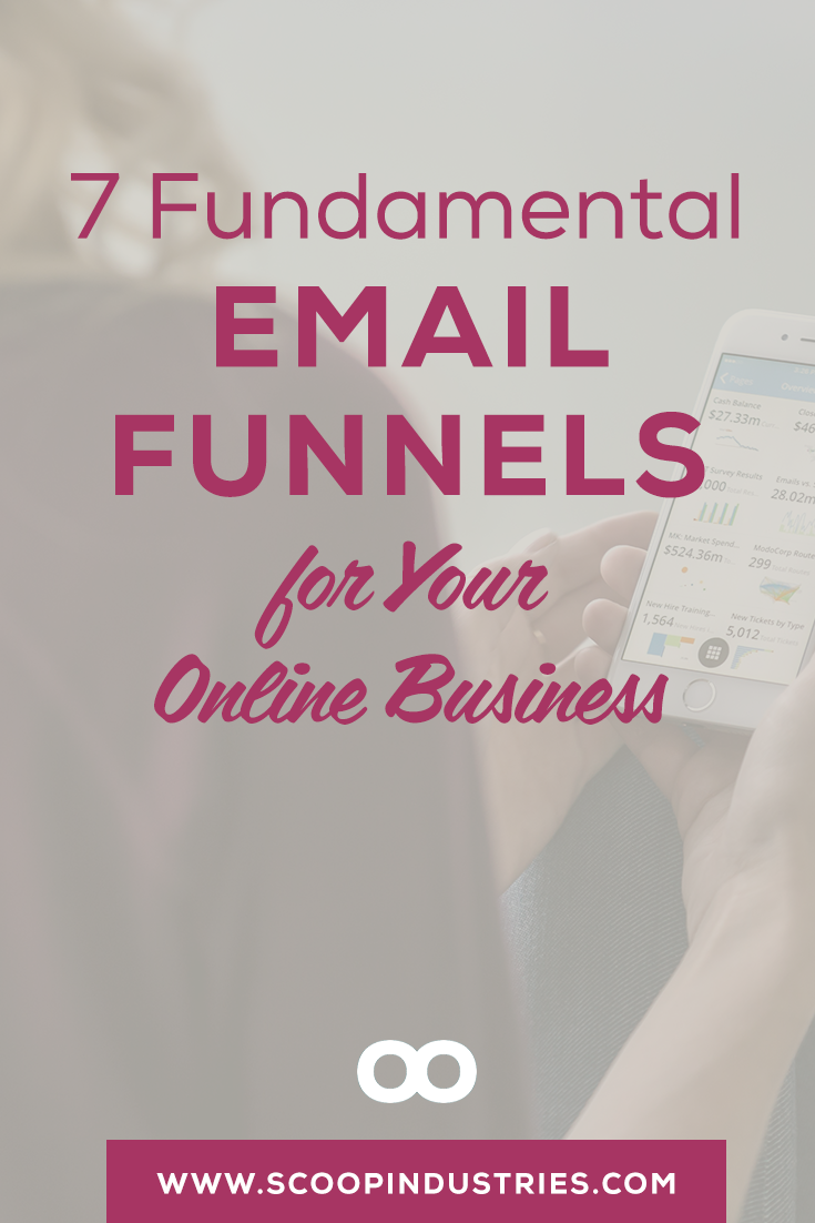 As an online biz owner, you know that funnels are HOT! *Pin this post to learn 7 of the fundamental funnels that you may need at some point* via @scoopindustries