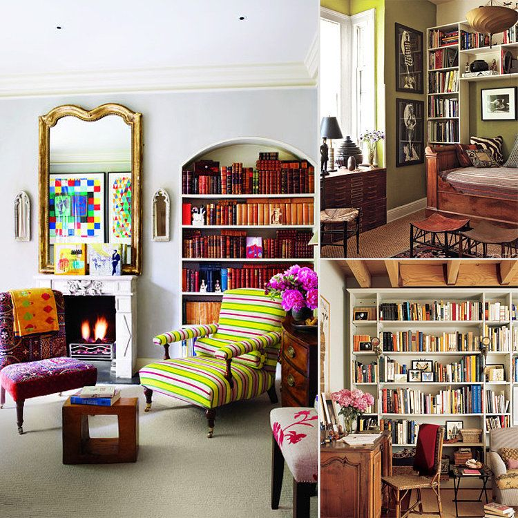 Elle Decor Bookshelves: Bookcase Styling Ideas You Can Steal From The Glossy Pages