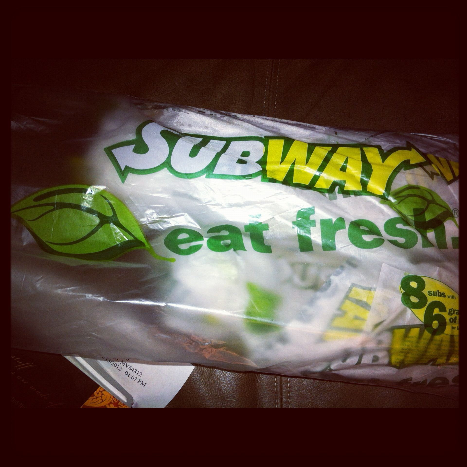 Subway! Eat fresh!! :))