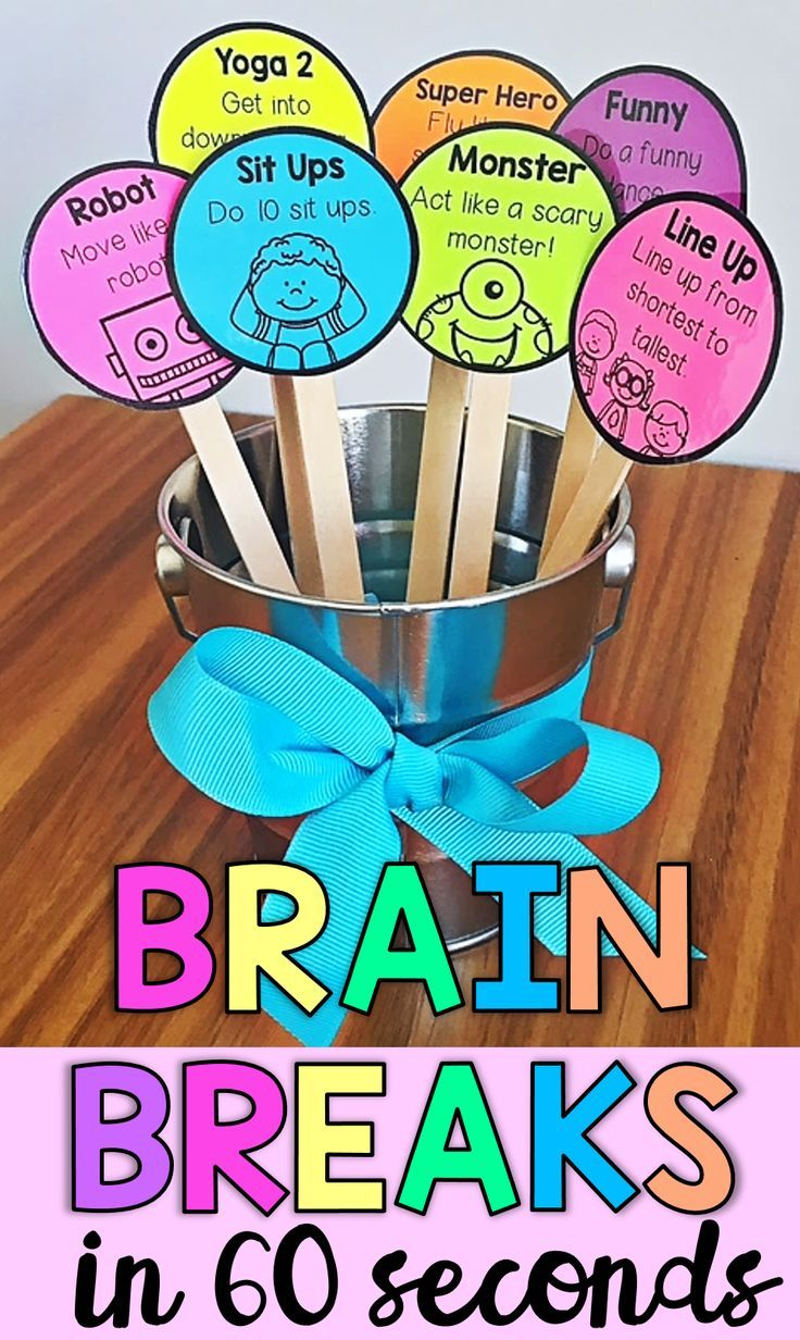 Brain Breaks in 60 Seconds- Classroom Management