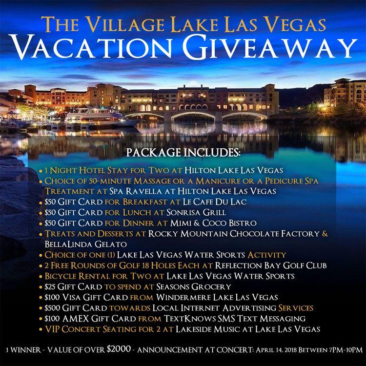Vacation Giveaway Vegas vacation, Las vegas vacation
