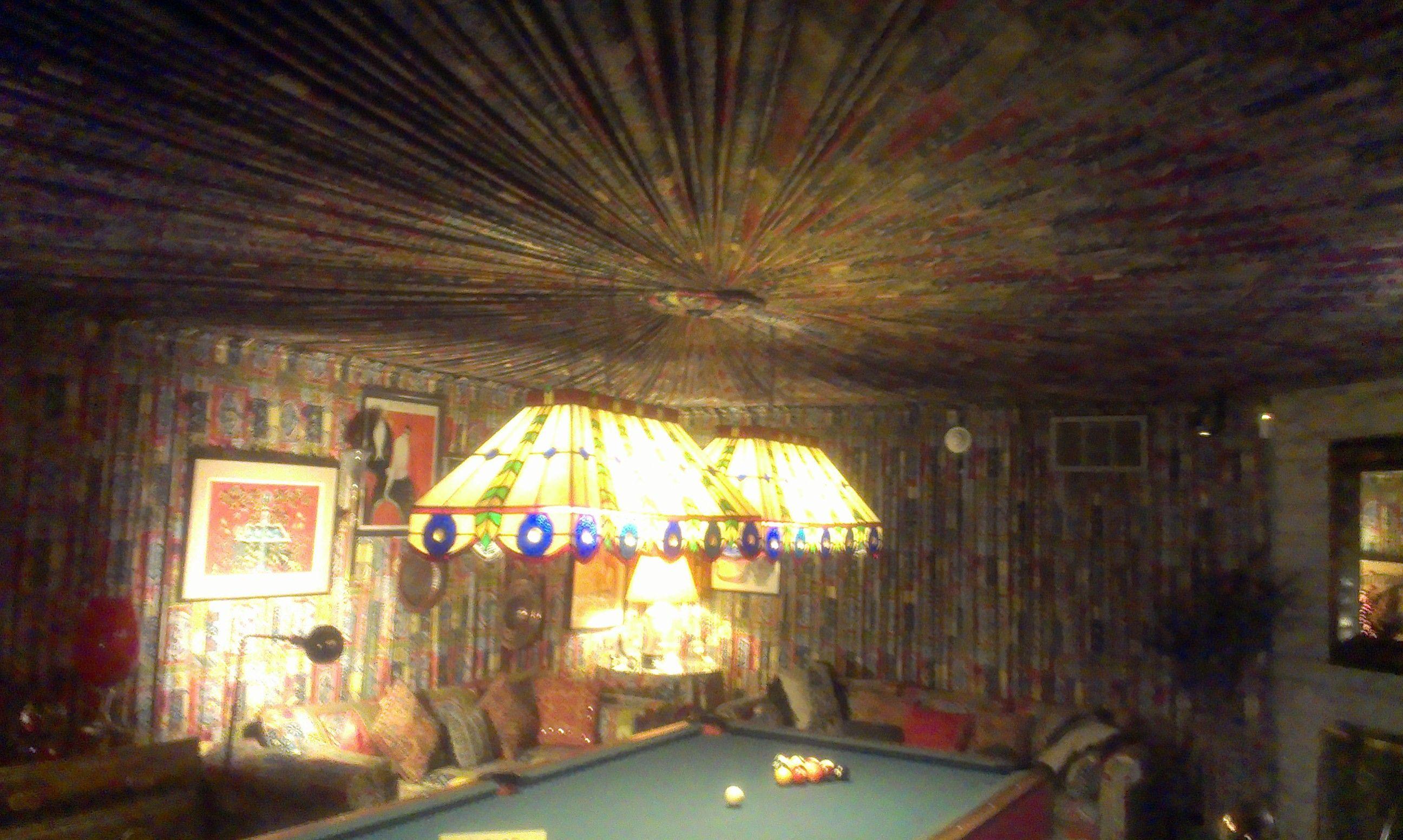 Memphis Tn Graceland Home Of Elvis Pool Table Room Pool Table Room Graceland Pool