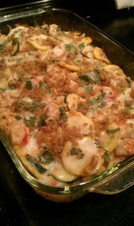 Crab and Pasta Alfredo Bake Imitation Crab And Pasta Alfredo Bake RecipeImitation Crab And Pasta Alfredo Bake Recipe