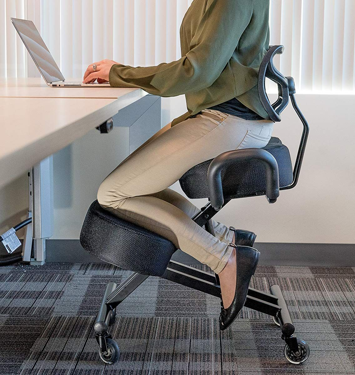 Sleekform Kneeling Chair For Perfect Posture Kneeling Chair