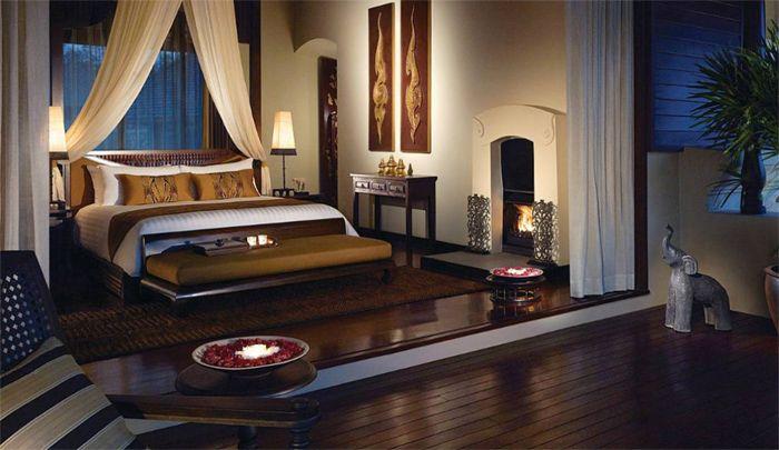 Thai Style Bedroom Luxury ตกแต งภายใน การออกแบบสวน ด ไซน