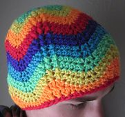 Ravelry: Rainbow Waves Beanie Pattern pattern by Topher Foster