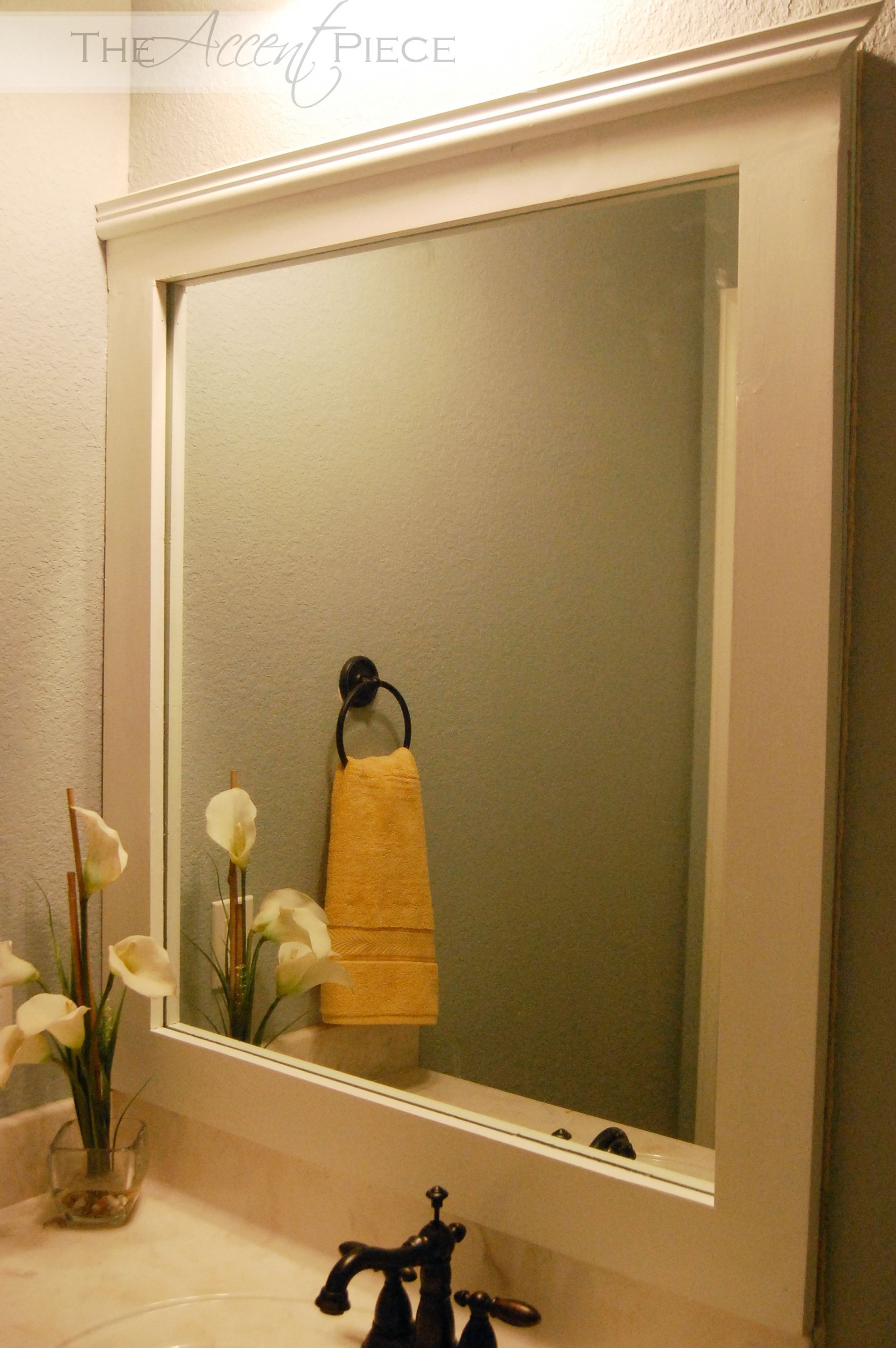 bathroom mirror ideas that are beautiful and decorative