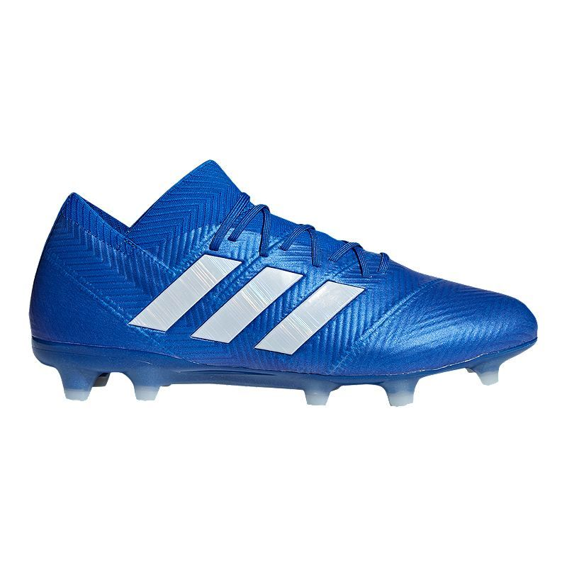 1af0feb9dab adidas Men's Nemeziz 18.1 FG Soccer Cleats - Blue/White in 2019 ...