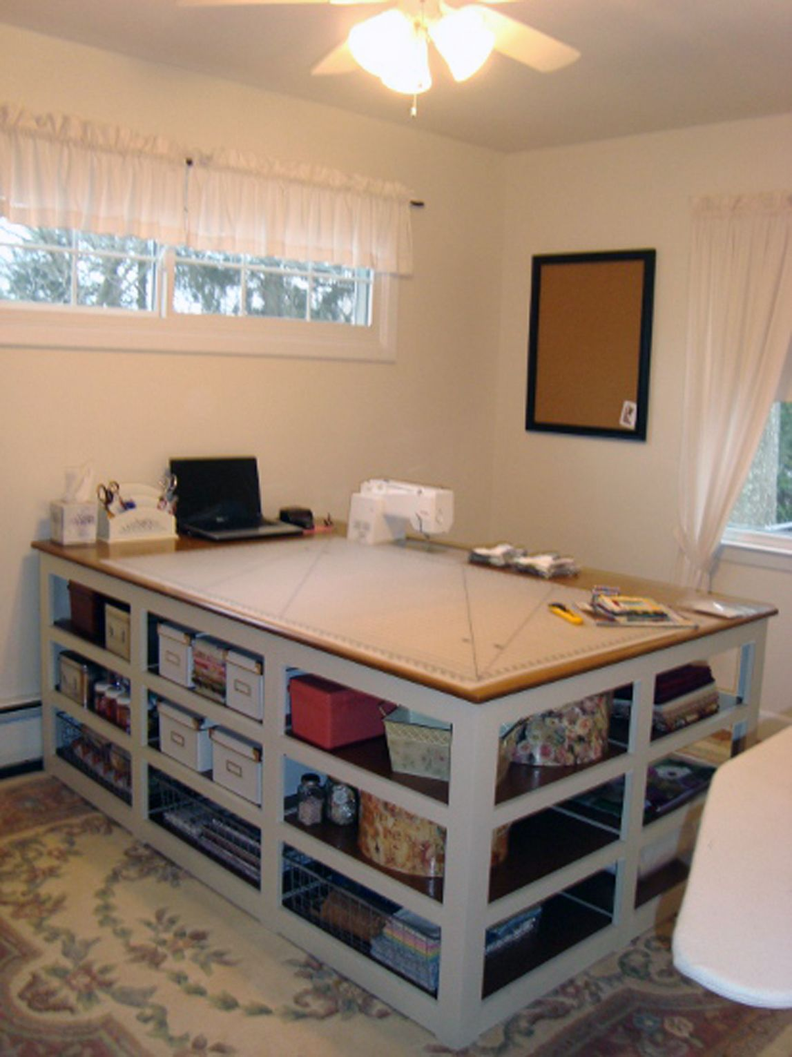 The Perfect SewingCutting Table Cutting Tables Cuttings And Sewing Rooms