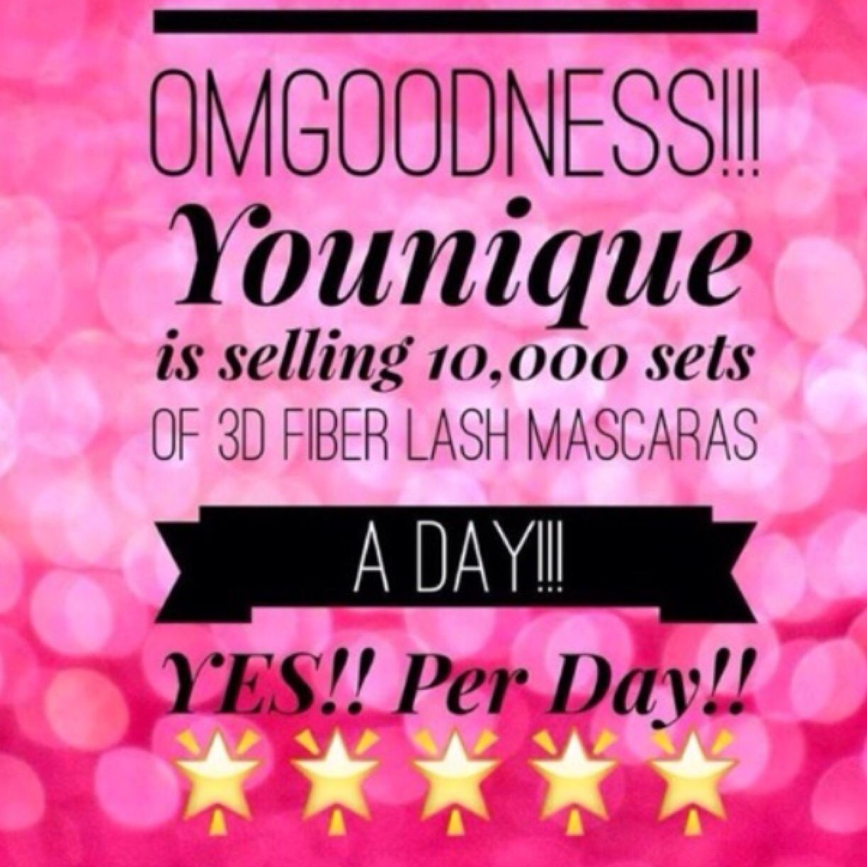 Get on the lash train now! Sales are flying thru the roof!