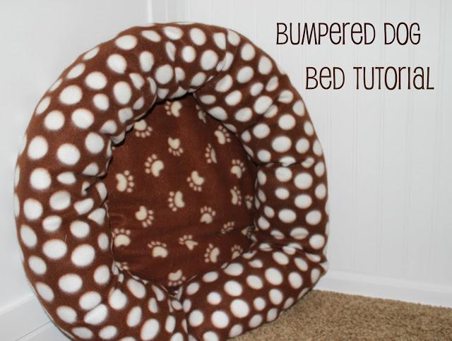 ClothQuick ProjectBumpered Dog Bed Tutorial Camas para