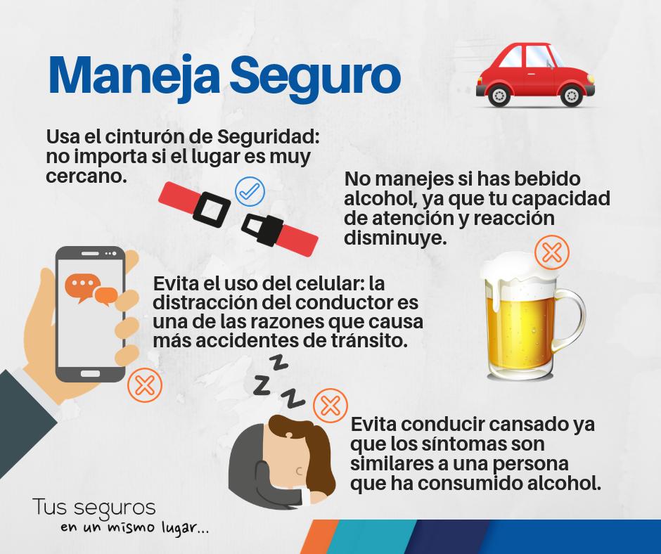 Pin De Nieves Medero En Seguros De Auto Consejos De Seguridad Vial Seguro De Auto Agencia De Seguros