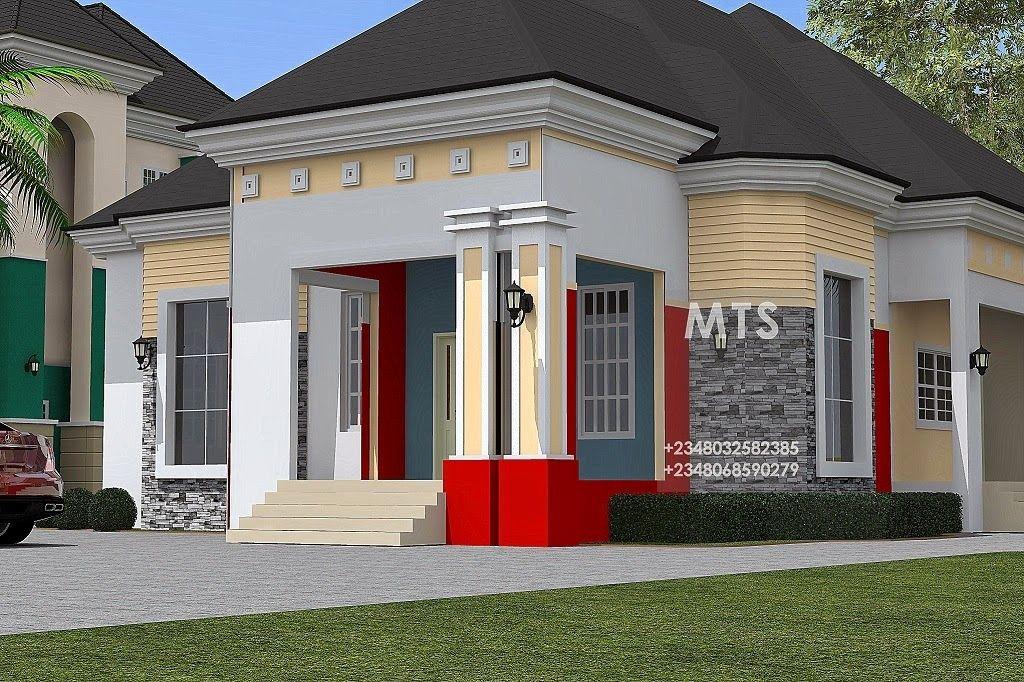 Bungalow Designs In Nigeria 4 Bedroom Bungalow Bungalow House Design Bungalow Design Duplex Design