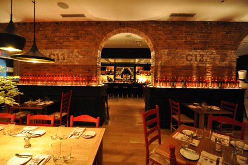 Be Trendy At Trattoria Cinque Nyc Restaurantsbars Pinterest