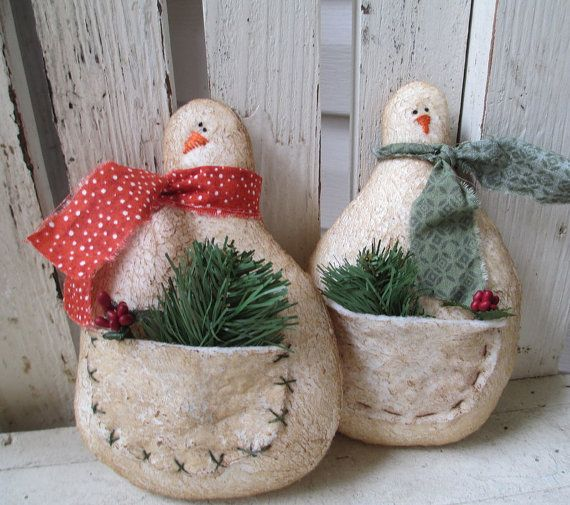 Snowman Decorating Ideas For Christmas Snowman, Gift and Primitives