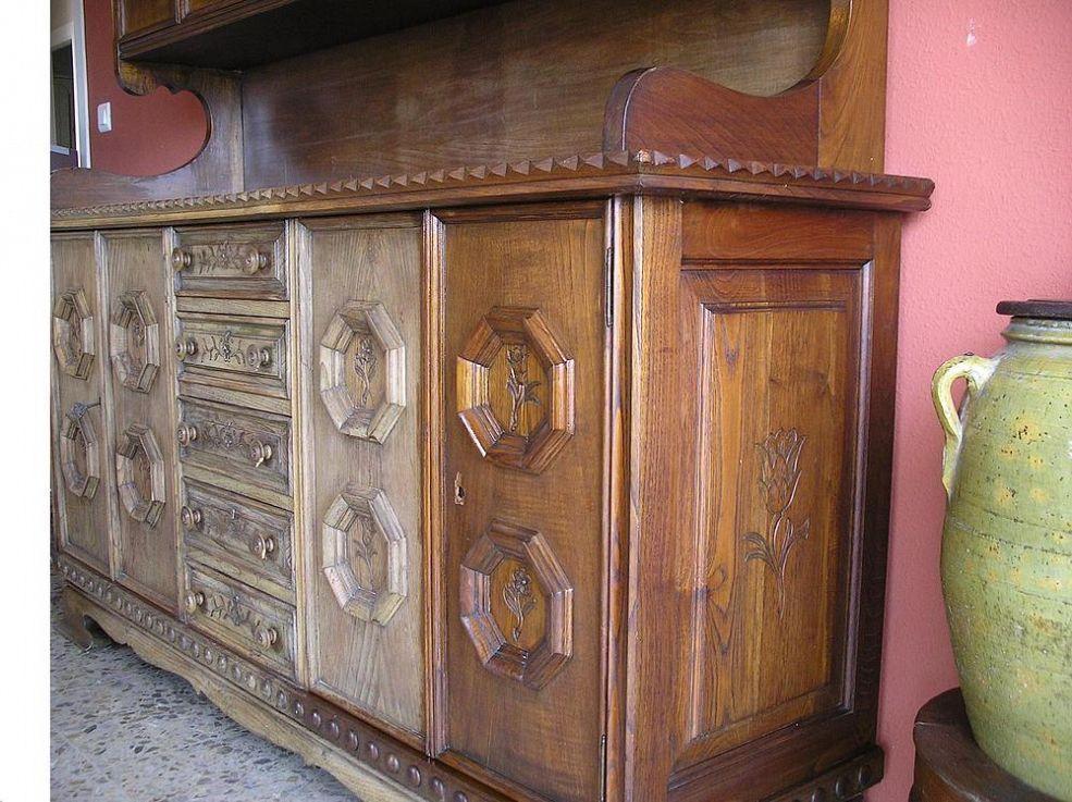 Mueble muy seco recuperado con aceite de linaza muebles - Aceite de linaza ...