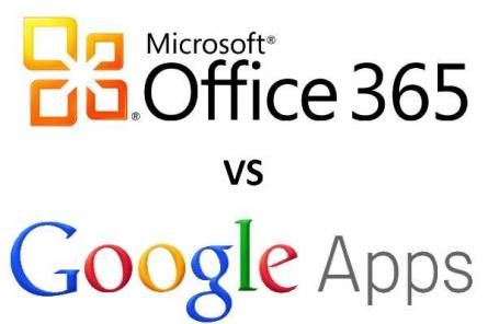 Microsoft Office 365 Versus Google Apps in the Battle for