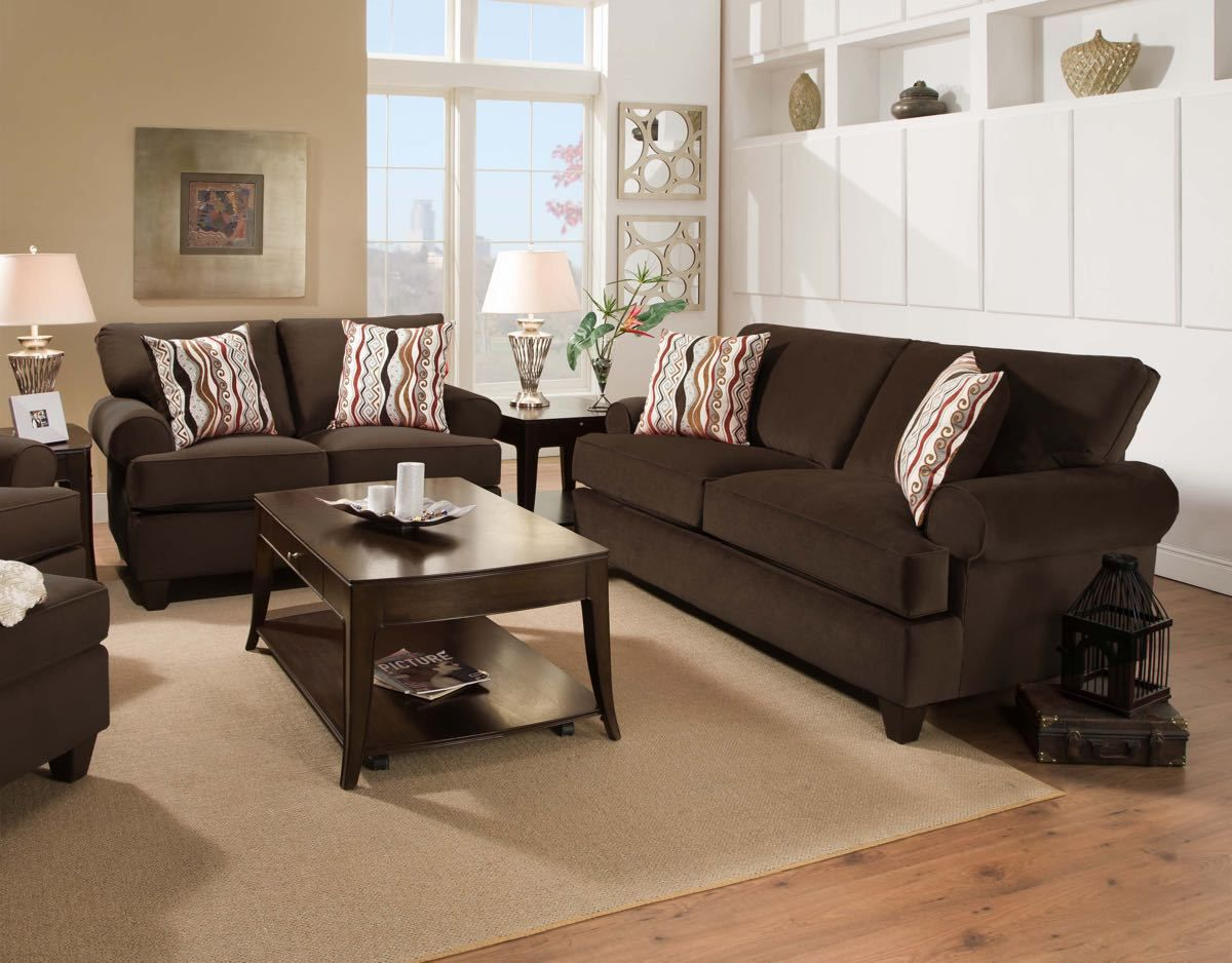 Corinthian Jackpot Chocolate Sofa Collection | Sofa and ...