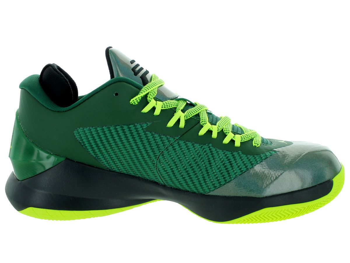 sports shoes e75b4 487a3 ... uk mens nike air jordan cp3.viii basketball shoes size 12 volt green  black ac3d6