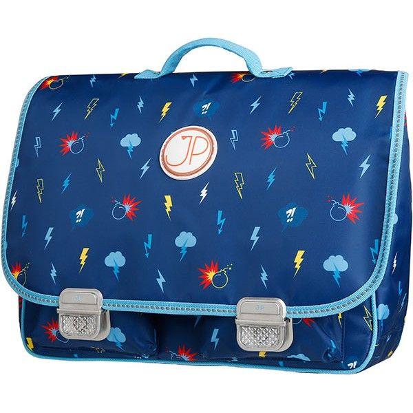 a3418e90d40 JPBags by Jeune Premier - boekentas - schooltas Paris Large Lightning  #schoolbag #cartable #