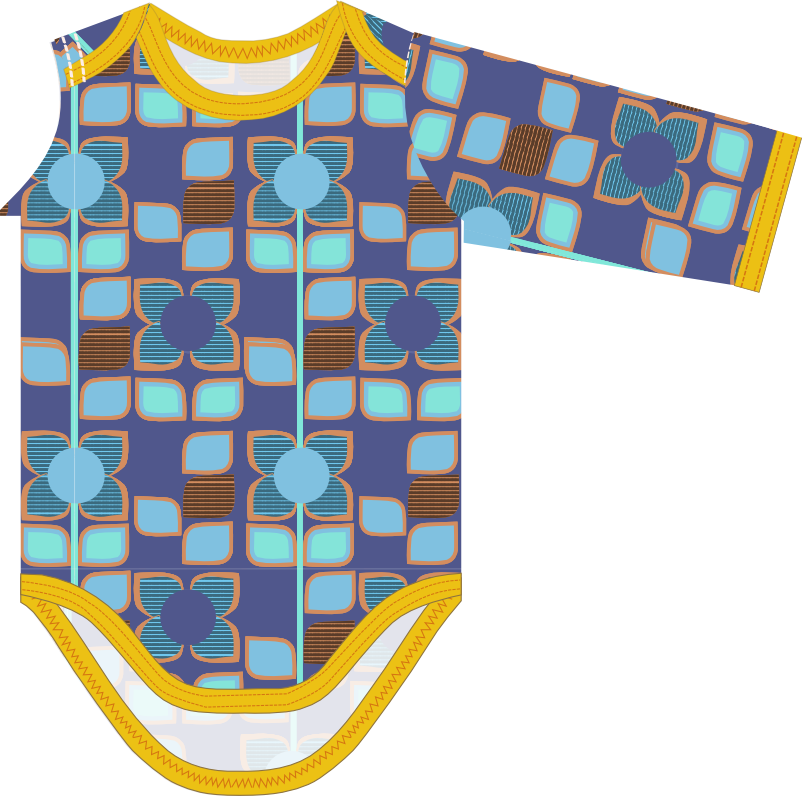 small dreamfactory: Free sewing tutorial and pattern baby romper ...