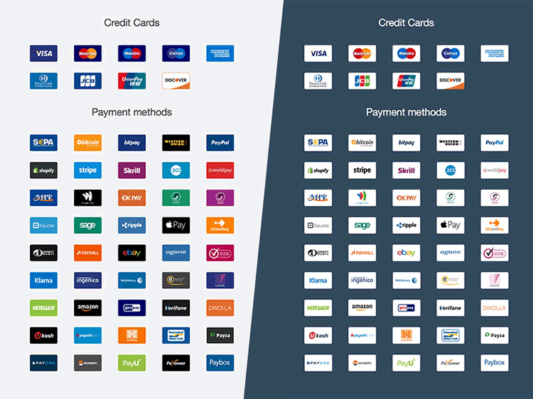 13 Free Payment Method & Credit Card Icon Sets  Credit card icon